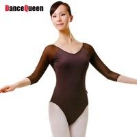 2016 New Women Gymnastics Leotard 6 Colors Adult Ballet Leotard For Practice Lady Ballet Clothing Body