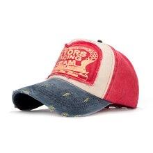 Wholesale Brand Men Women Baseball Cap Spring Cotton Cap Unisex Baseball Caps Snapback Hat Summer Hip Hop Grinding Multicolor