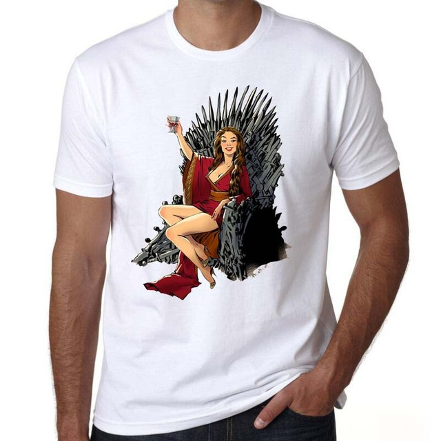 Game Of Thrones Iron Throne Casual Fashion Men's T-shirt