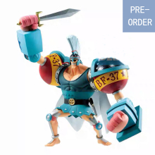 Presale August Original Banpresto  One Piece Stampede Figure Ichibansho Franky Figures Model Dolls Brinquedos