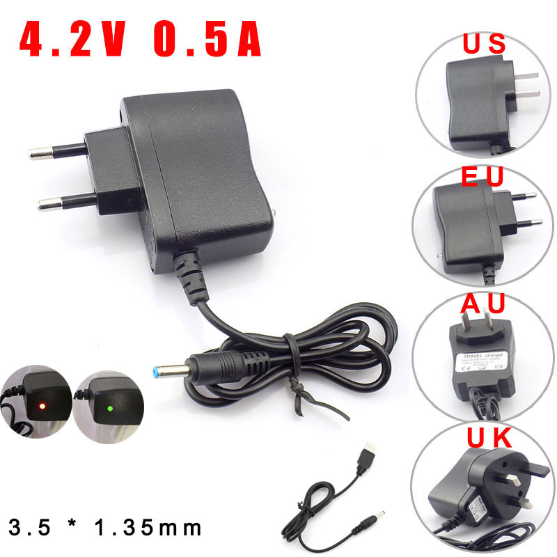 Universal DC 3.5mm Power Cable USB Charger Charging Cable Wire For 18650 Rechargeable Batteries For Headlamp Flashlight Torch