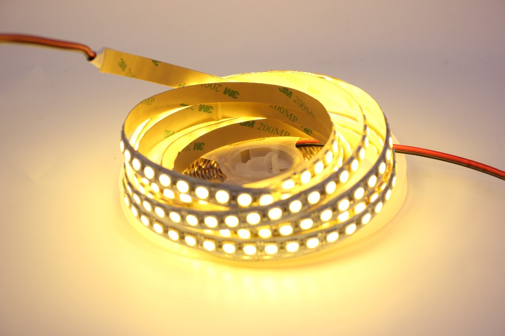 Image 5 - 1/2/3/4/5M LED Strip 5050 DC12V 120LEDs/m  Flexible LED Strip tape Lighting  RGB /Warm white/White 5050 LED  high brightness-in LED Strips from Lights & Lighting