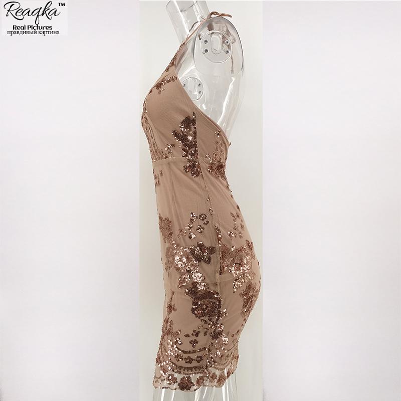 HTB1fXBJQpXXXXbgXFXXq6xXFXXXu - FREE SHIPPING Women Halter Bandage Backless Rose Gold mini dresses Floral JKP249