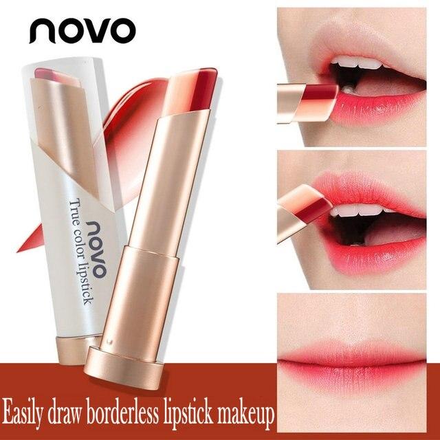 aliexpress com buy novo sweet heart ying lu petal lips lipstick