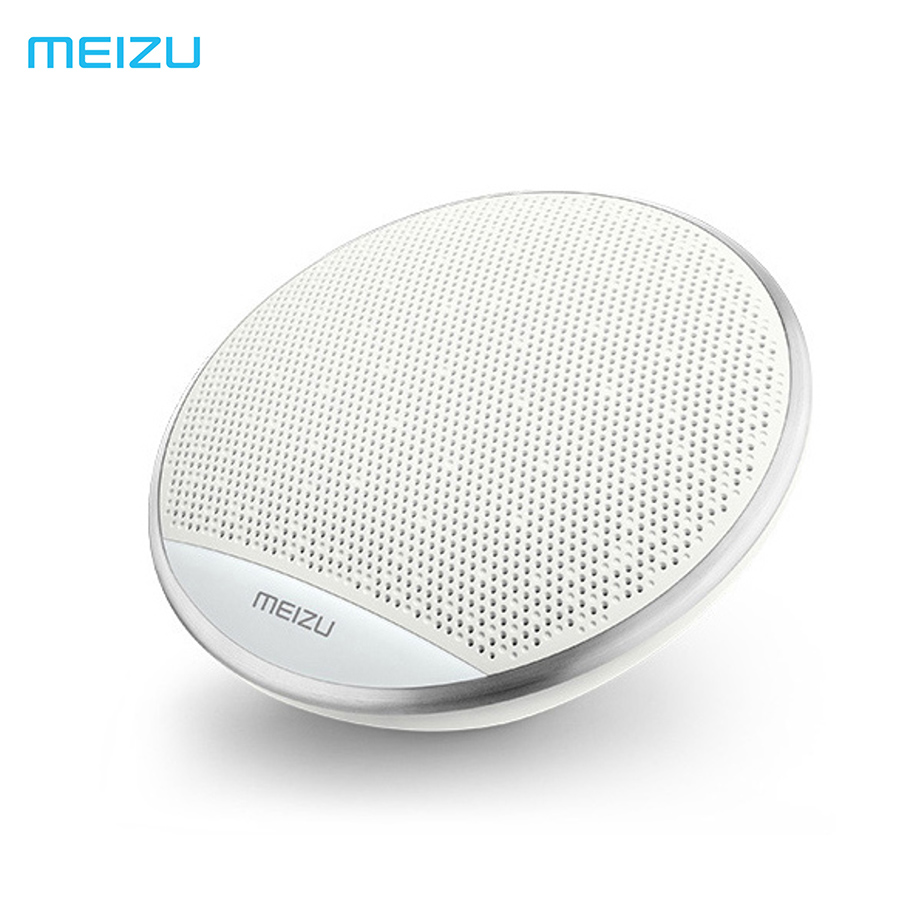 Original Meizu A20 Portable Wireless Bluetooth 4.2 Speaker Portable Stereo Outdoor Bass Mini Speakers 15 Hours Play Music t050 3w mini portable retractable stereo speaker w tf black golden 16gb max