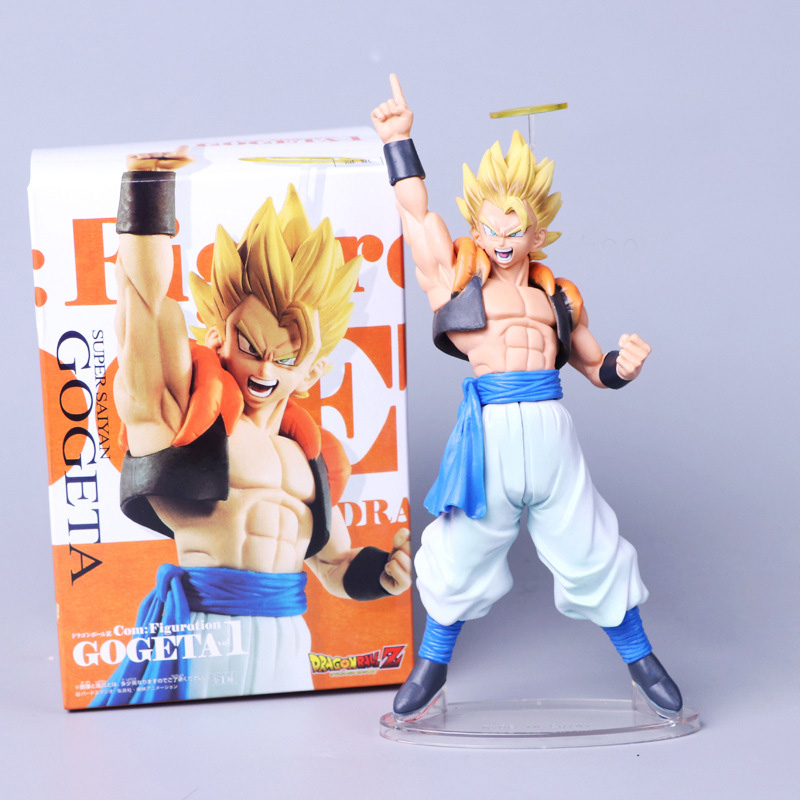 20cm Dragon Ball Z Gogeta Super Saiyan Action Figure Collection Model Toys