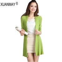 Autumn And Winter Loose Sweater Sexy Iarge Size Women Jacket 2015 Fashion Sexy Chest Bags Iong