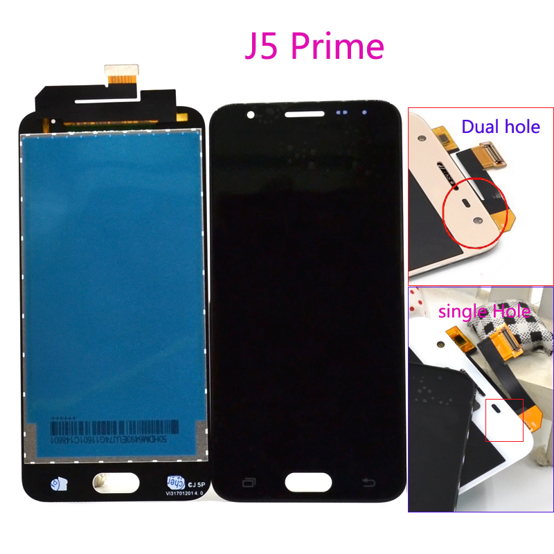 5 inch ORiginal Display For Samsung J5 Prime LCD On5 2016 G570F/DS G570M lcd display touch screen digitizer assembly parts