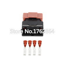 10PCS Cable Automotive 4pin Female Wiring Connector 3mm Series Terminal New DJ7046Y-3-21
