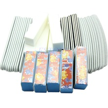 40PCS Nail Art Sanding Files Buffer Block UV Gel Manicure Pedicure Tools Set
