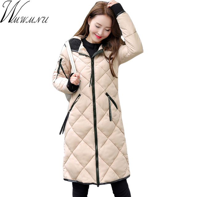 Us 81 9 Wmwmnu Women Winter Thick Coat Jacket Warm Woman Parkas Female Overcoat Quilting Cotton Coat 2017 New Winter Collection Ss390f In Parkas