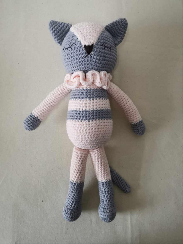 Heybabee 100% ручной работы крючком кот игрушки амигуруми детские вязаные мягкие игрушки для дня рождения рождественские подарки