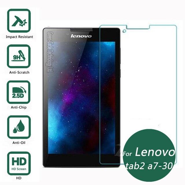 Para lenovo tab 2 a7-30 3g vidrio templado protector de la pantalla 2.5 9 h película protectora de seguridad en a7-30ct tab2 7.0