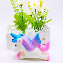 Squishy Starry sky House Unicorn Squishies Slow Rising Soft