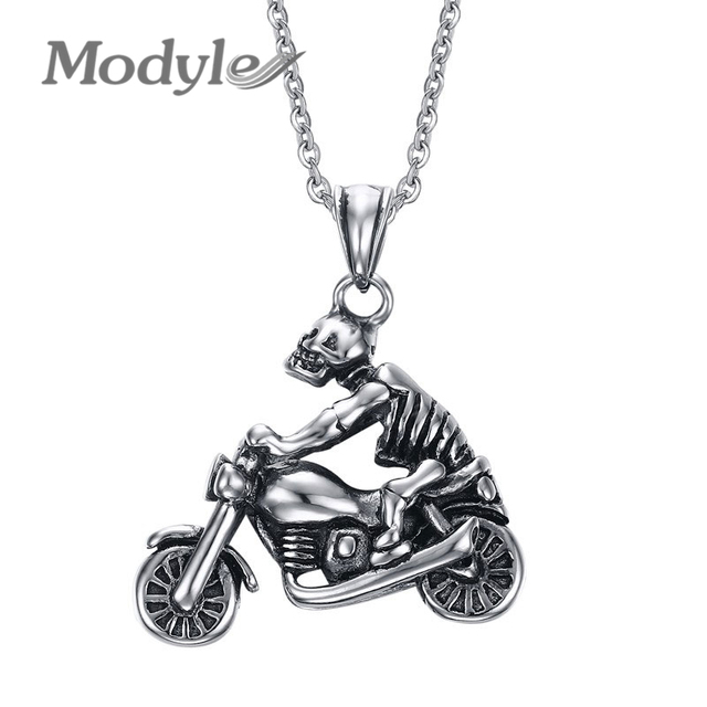 Ghost Rider Necklace
