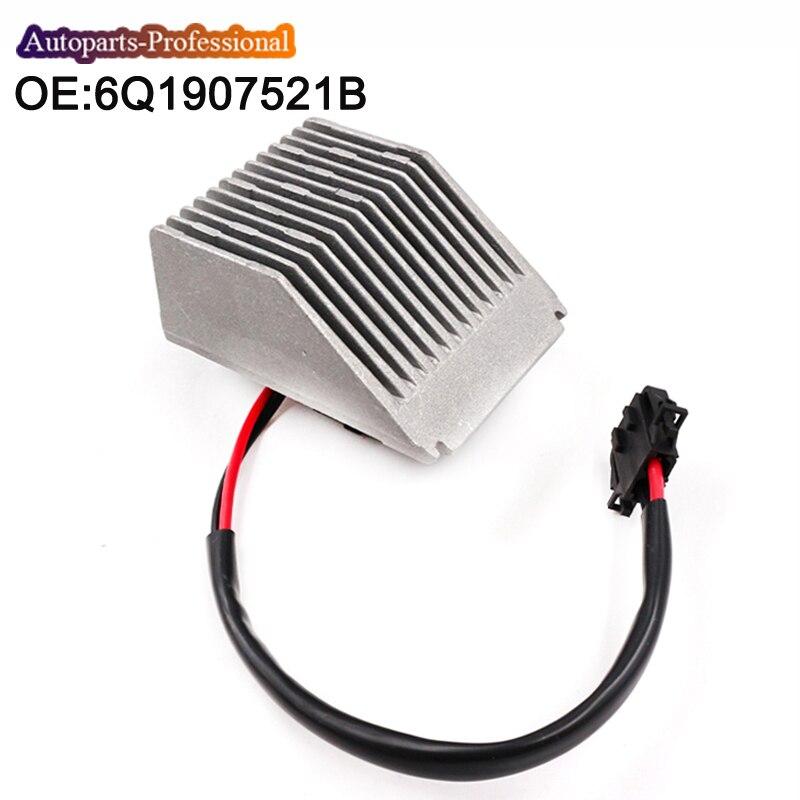 Carro 6q1907521b novo a/c aquecedor ventilador do motor resistor para audi a2/seat ibiza 4 5 st cordoba/skoda fabia/volkswagen 6q1 907 521b
