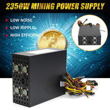 S SKYEE 1Pcs 2350W Power Supply For Eth Rig Ethereum Coin Mining Miner Dedicated Machine Computer PC Power Supplies For BTC