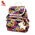 New Handbag Shoulder Bag Large Travel Bag Bag Mummy Bag Paragraph Bright Baby Diasper Backpack V-0705