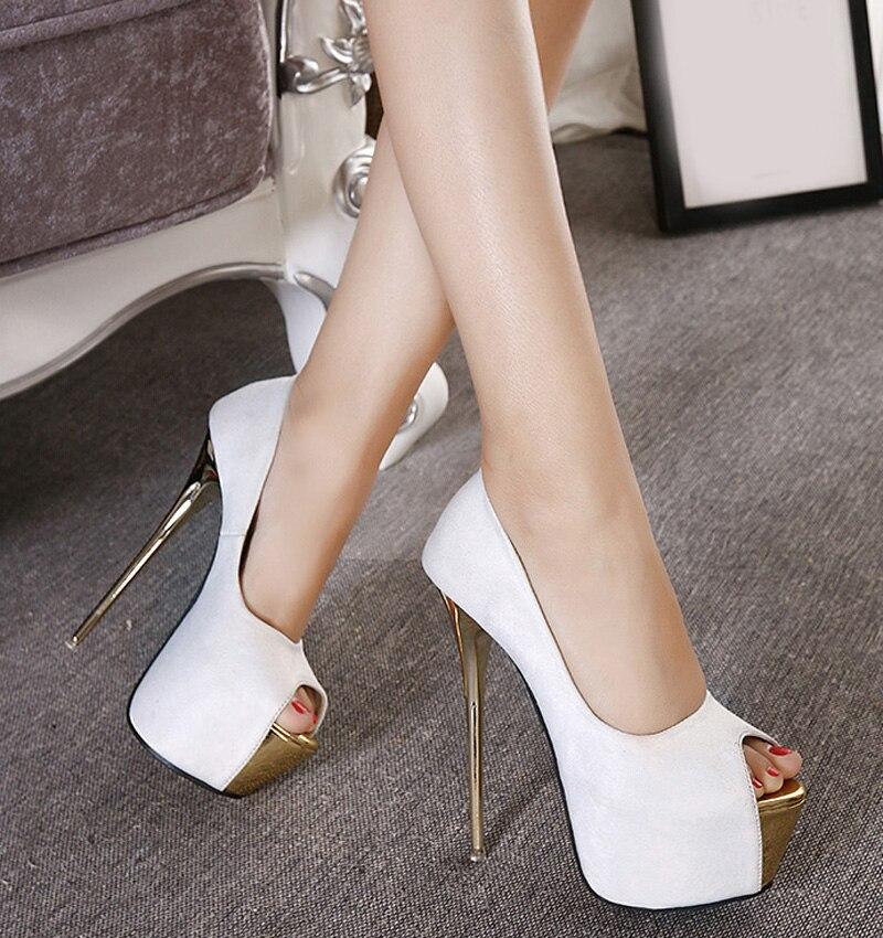 6 Inch High Heels - Red Heels Vip