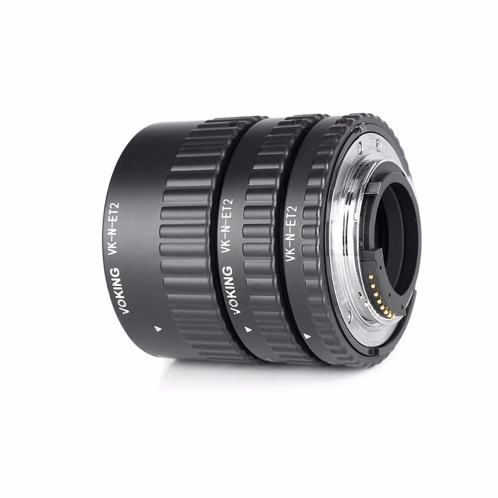 Voking VK-N-ET2 automaatfookuse makro pikendustoru rõngas Nikon D60 - Kaamera ja foto - Foto 2