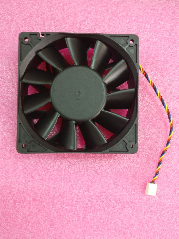 Free shipping Bitcoin Miner Fan 12cm PWM Fan for AntMiner S7 S9 the length of wire