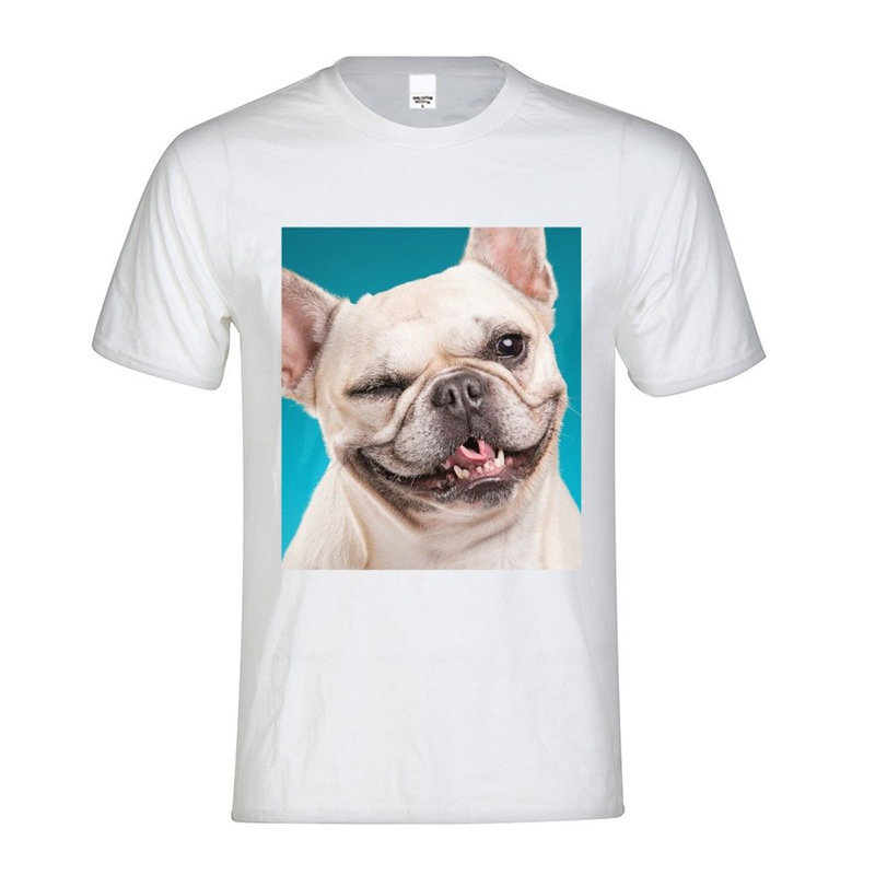 French Bulldog Pet Gift For Men Husband Dad Casual T Shirt 2018 New Fashion Cotton Men T-shirt High Quality The Dogfather Tops & Tees