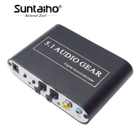 Suntaiho 5 1 CH Audio Decoder SPDIF Coaxial To RCA DTS AC3 Digital To 5 1