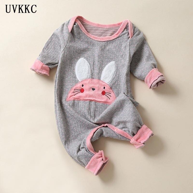 UVKKCNew 2017 söt älsklingsplagg jumpsuit Pullover nyfödd babykläder ... 3591d5169c27c