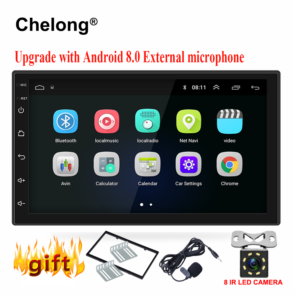 Android 8.0 universal Auto Radio 7