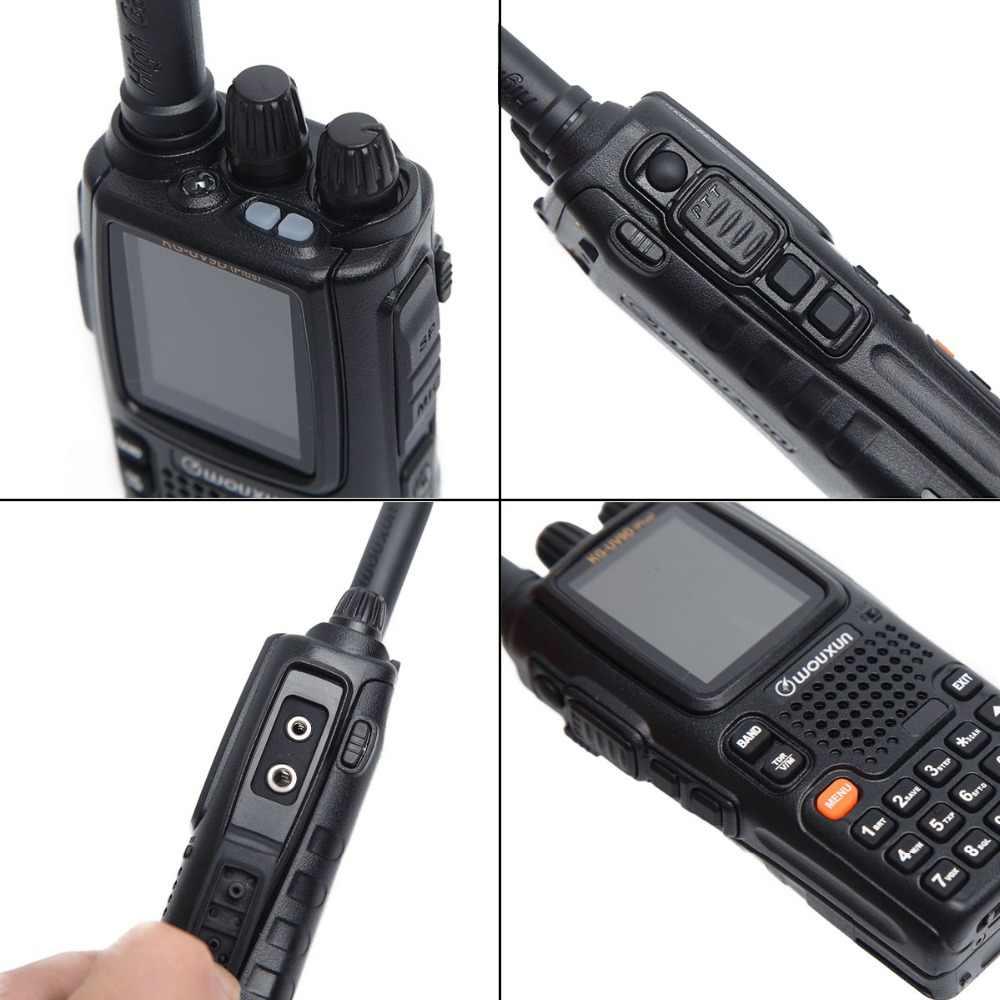 Wouxun KG-UV9D Plus réception à sept bandes double bande de Transmission Air bande classique répéteur à bande croisée talkie-walkie