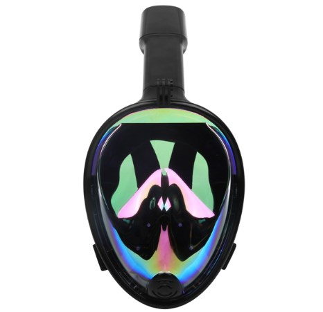 2019 Swimming Diving Snorkeling Full Face Mask Surface Scuba For Gopro L/XL (Adult Type) And S/M (Child Type)