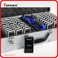 Fasting Deliery YARMEE YT100 Audio System Tour Guide With 2 Tranmsitter 30 Receivers And A