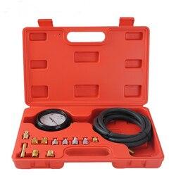 Oleju silnikowego tester ciśnienia test miernik test diagnostyczny zestaw narzędzi zestaw narzędzi ręcznych