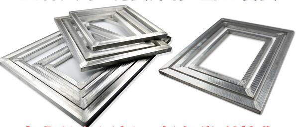 three pieces aluminum alloy screen frame for screen printing inner size 1925cmchina