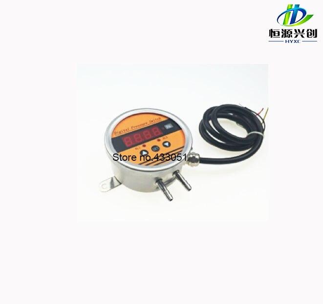 Differential pressure transmitter; measurement range: -100~0~100KPa; output signal: Relay ,Relay+4-20mA;Digital display functionDifferential pressure transmitter; measurement range: -100~0~100KPa; output signal: Relay ,Relay+4-20mA;Digital display function