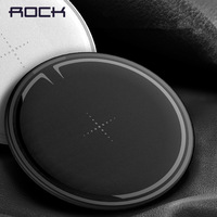 ROCK For IPhone Samsung Wireless Charger 10W Desktop Smart Phone Qi Wireless Charger For IPhone X