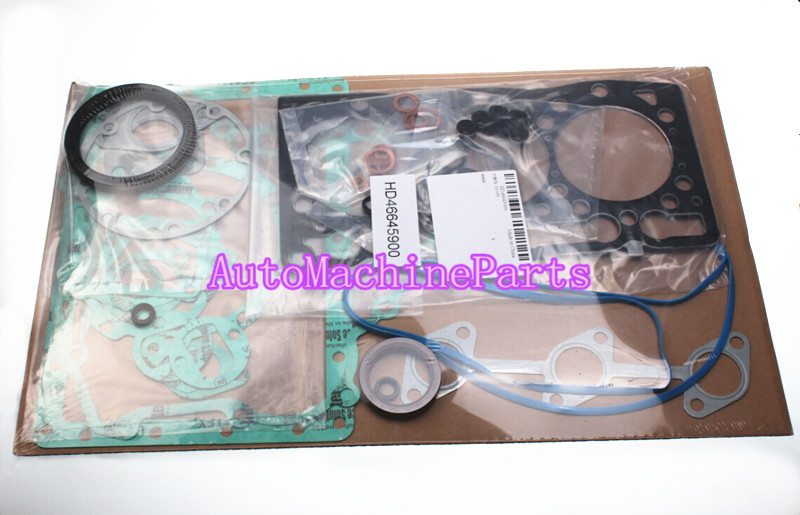 Full Gasket Set 4183636 & 4183637 for Kubota D1105 Engine new gasket set 129407 01340 for 4tnv88 4tne88 engine 719609 92610