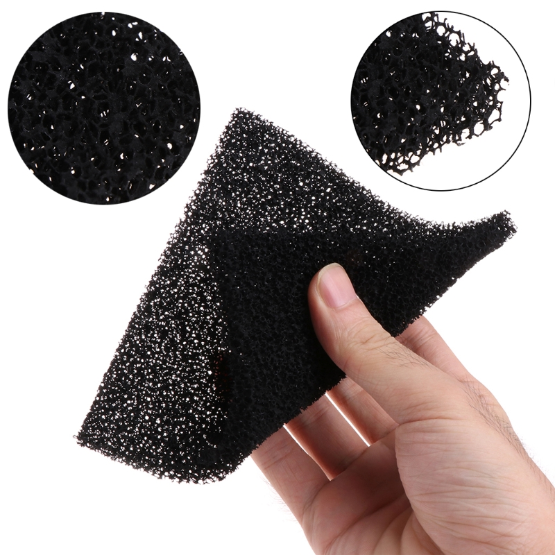 Different Quality 5 pcs Activated Carbon Filter Sponge For 493 Solder Smoke Absorber ESD Fume Extractor