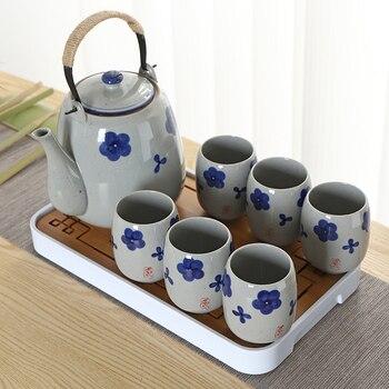 Ensemble De Thé En Céramique Grande Capacité TANGPIN Théière En Porcelaine Thé Chinois Kung Fu Ensemble De Thé Drinkware
