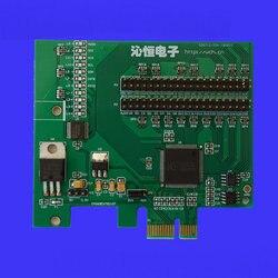 Pcie rozwój pokładzie CH368 rozwój pokładzie rady oceny magistrali PCIe do 32-bit lokalnym autobusem