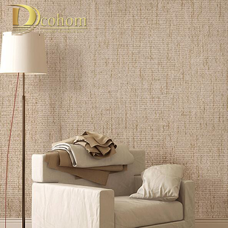 Popular linen wall paper buy cheap linen wall paper lots for Living room paper