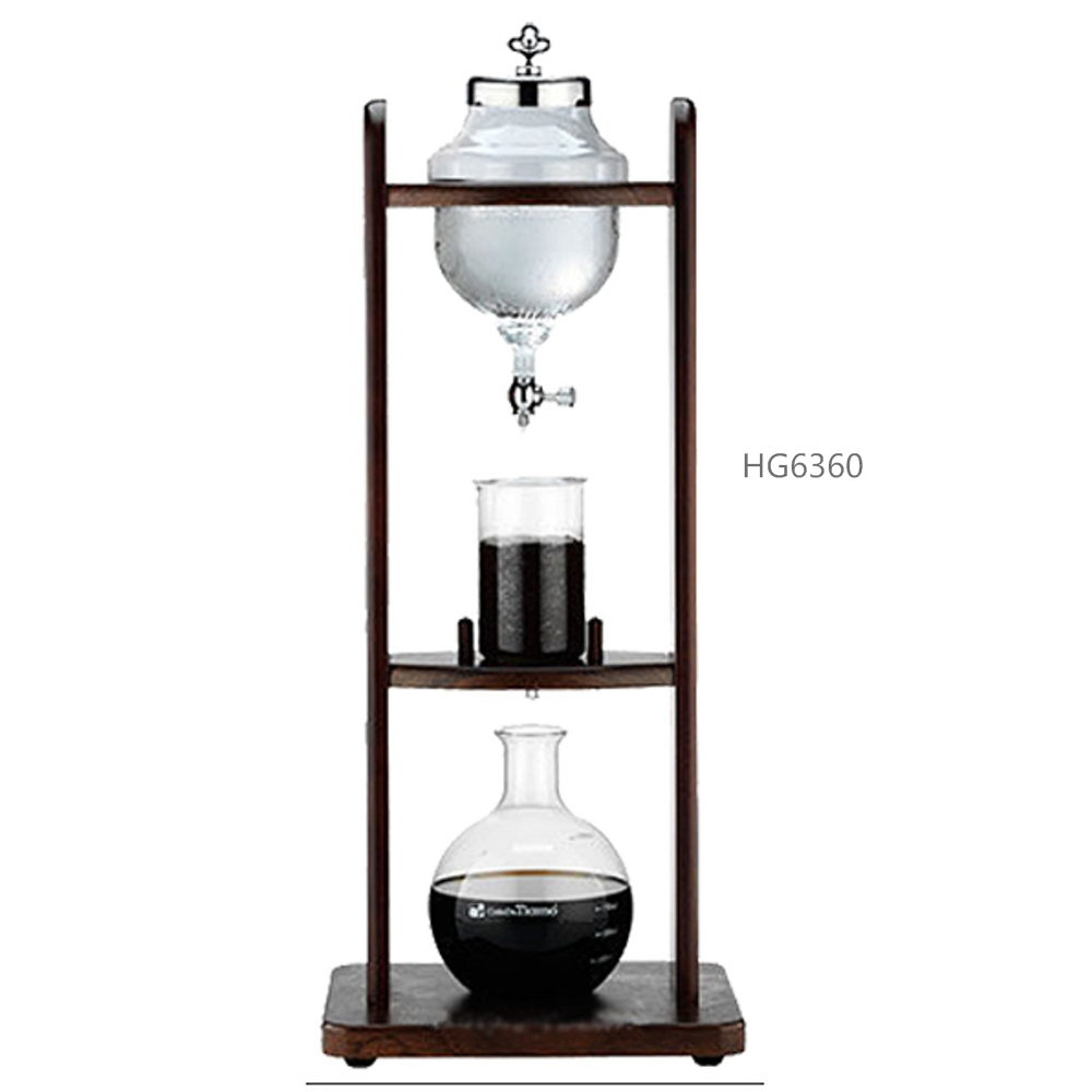 Tiamo water drip coffee maker /water dripper coffee maker/ice &cold drip coffee maker 10cups HG6360 urnex dezcal coffee maker