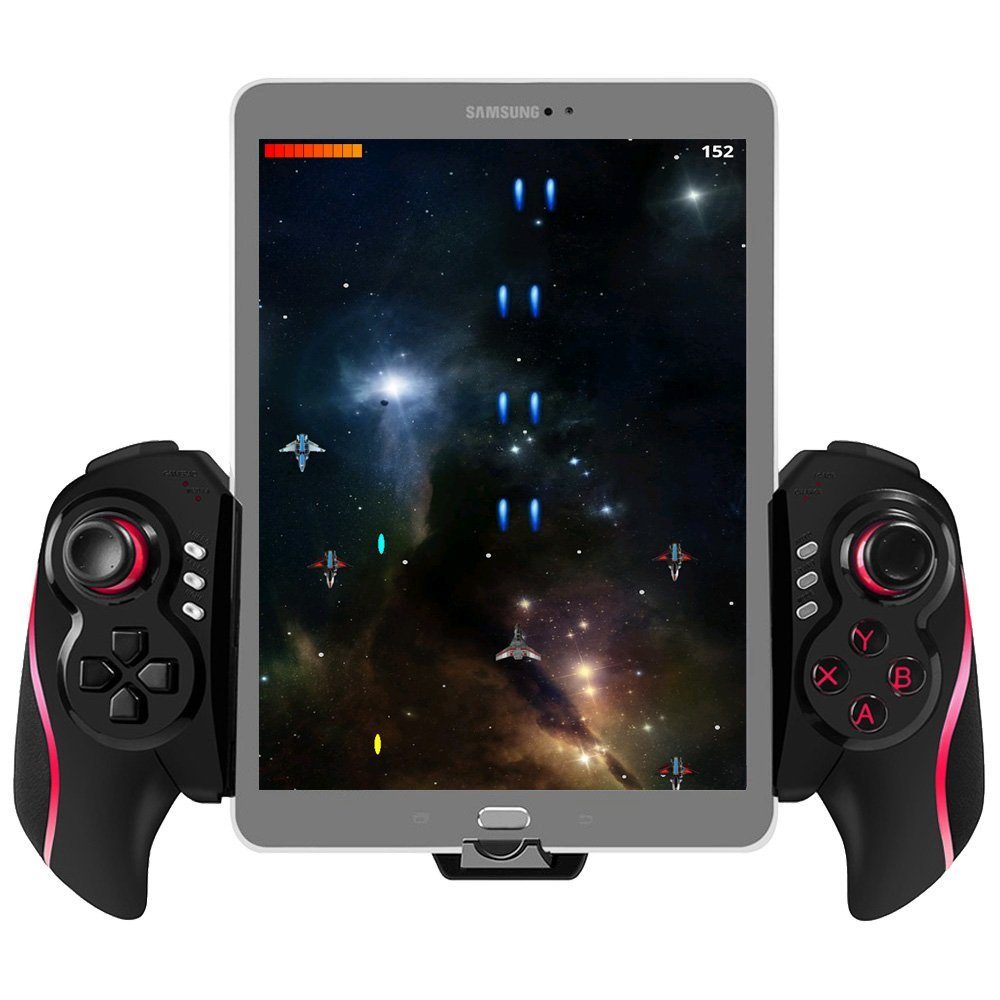 где купить  BEBONCOOL Wireless Gamepad Bluetooth Game Controller  for Android Tablet Galaxy Tab S/A/4/Q/E/Tab Pro, Phone Samsung Gear VR  дешево
