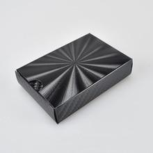 UBUY New Design Waterproof PVC Plastic Black radiation Playing Cards