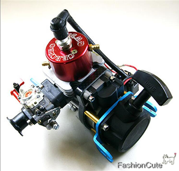 High Quality CRRCPro GW26I 26cc Gasoline / Petrol Engine for RC Model Boat dla116 inline cnc processed inline gasoline engine petrol engine 116cc for gas airplanes with double cylinders
