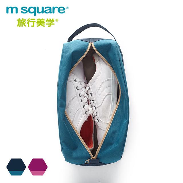 Acessórios Sapato de Viagem M Quadrado Saco de Armazenamento De Bagagem Mulheres Homens Sapato Organizador De Armazenamento