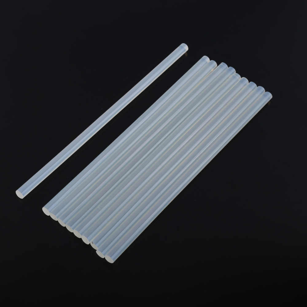 10 stks clear 7mm Hot Melt Lijm Sticks 200mm Lijmstift Voor Elektrische Lijmpistool Reparatie Tools