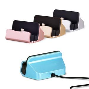 Image 4 - טלפון נייד מחזיק USB שולחן מטען מתאים עבור iOS/אנדרואיד טלפון סוג C/MicroV8 מטען עבור iPhone /סמסונג/Huawei/Xiaomi