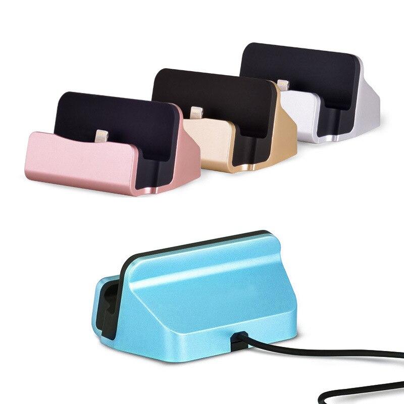 Image 4 - Держатель мобильного телефона USB настольное зарядное устройство подходит для iOS/Android телефон type C/MicroV8 зарядное устройство для iPhone/samsung/huawei/Xiaomi-in Зарядники from Бытовая электроника