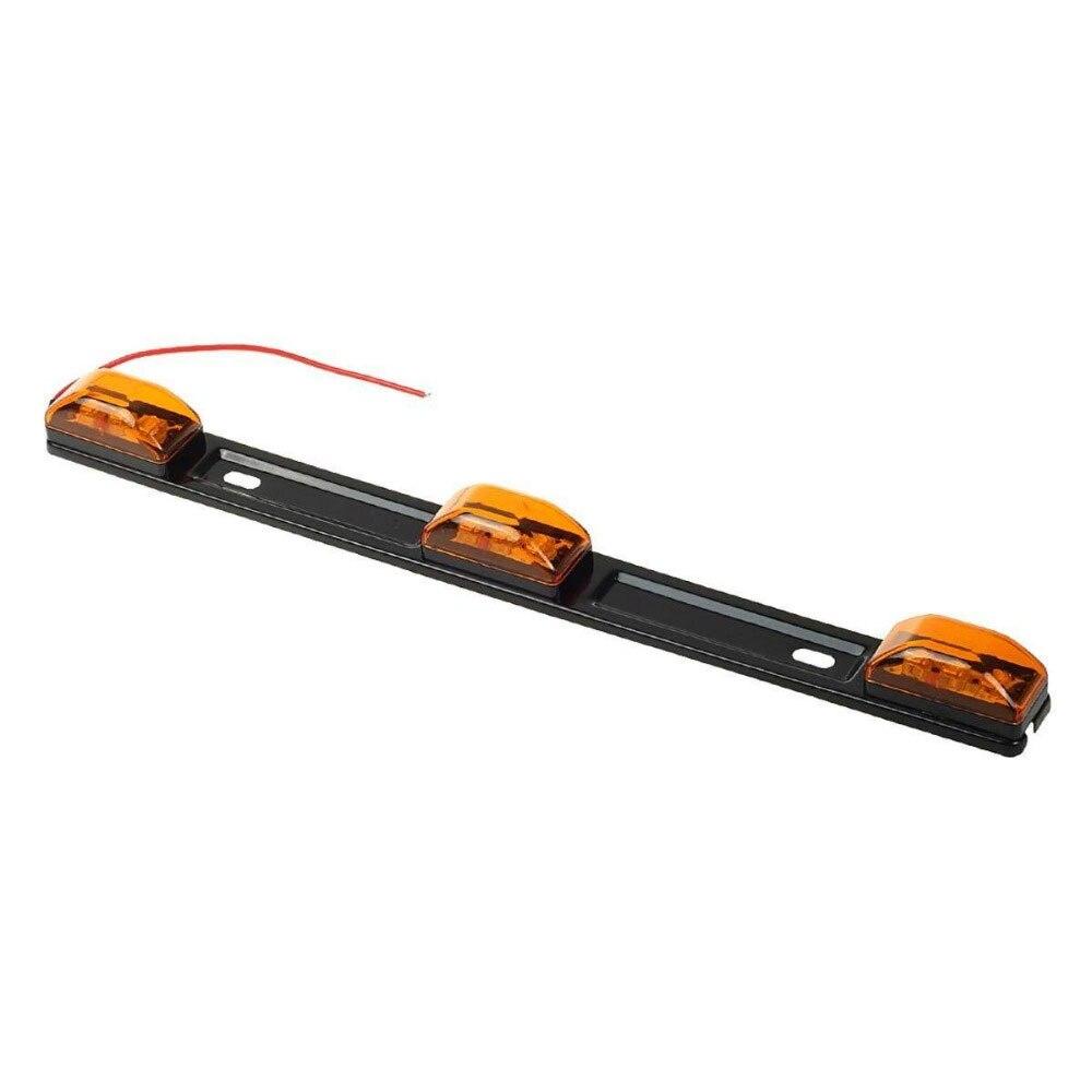 Vehemo 12 в автомобили Боковой габаритный фонарь боковые фонари RV прочные сигнальные огни звукосниматель задние фонари грузовик задние боковые лампы автомобильные аксессуары - Испускаемый цвет: yellow